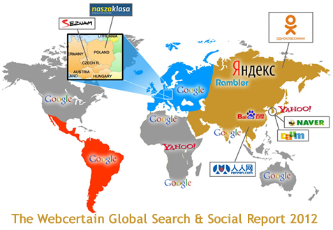 The WebCertain Global Search and Social Report 2012